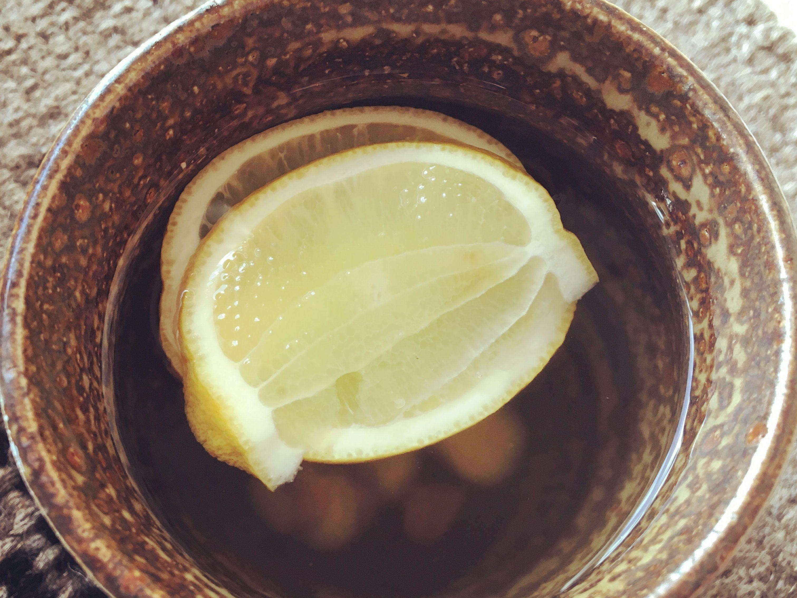 SIMPLE GINGER & LEMON TEA